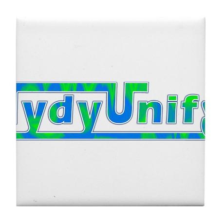 TydyUnify - Blue Green Tile Coaster
