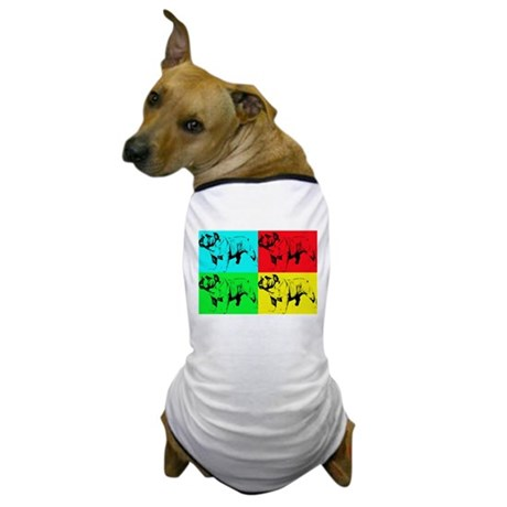 Pop Bulldog2 Dog T-Shirt