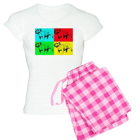 Pop Bulldog2 Women's Light Pajamas