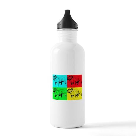 Pop Bulldog2 Stainless Water Bottle 1.0L