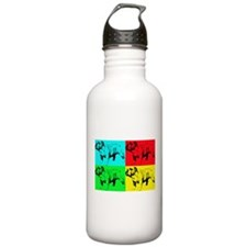 Pop Bulldog2 Water Bottle