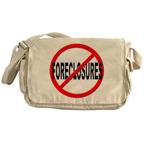 Anti / No Foreclosures Messenger Bag