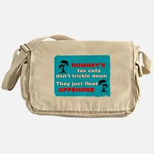 Romneys Tax Cut Dont Trickle Down Messenger Bag