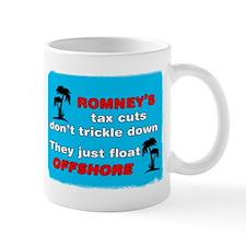 Romneys Tax Cut Dont Trickle Down Mug