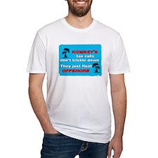 Romneys Tax Cut Dont Trickle Down Shirt