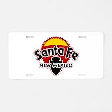 Santa Fe Sun Aluminum License Plate
