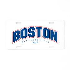 Boston 1630 Aluminum License Plate