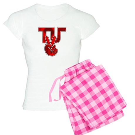 TydyUnify - Red Peace Fingers Women's Light Pajama
