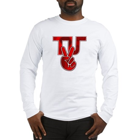 TydyUnify - Red Peace Fingers Long Sleeve T-Shirt