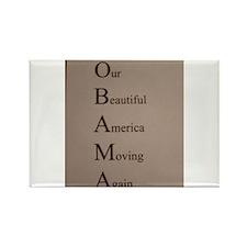 Barack Obama - Our Beautiful America Moving Again