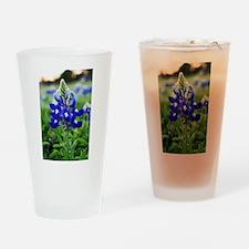 Lonestar Bluebonnet Drinking Glass