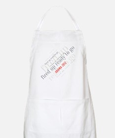 Fired up ready to go Apron