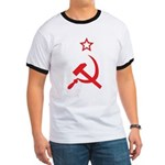 Star, Hammer and Sickle Ringer T