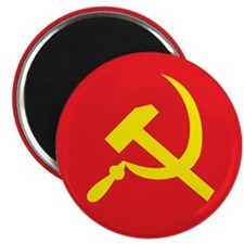 Star, Hammer and Sickle Magnet