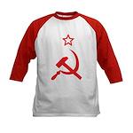 Star, Hammer and Sickle Kids Baseball Jersey