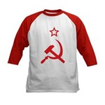 Star, Hammer and Sickle Kids Baseball Jersey