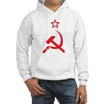 Star, Hammer and Sickle Hooded Sweatshirt