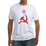 Star, Hammer and Sickle Fitted T-Shirt
