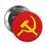 Star, Hammer and Sickle Button