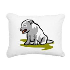 3_puppy.wmf Rectangular Canvas Pillow