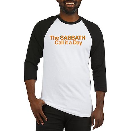 The Sabbath Call It A Day Baseball Jersey