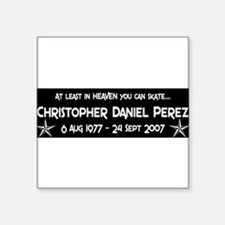 """CDP12S8WHT.png Square Sticker 3"""" x 3"""""""