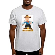 Texas Chili Ash Grey T-Shirt