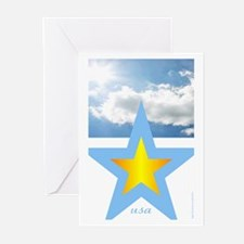 """USA"" Greeting Cards (Pk of 10)"