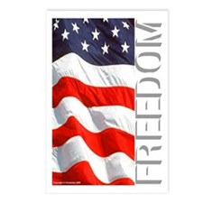 """Freedom"" Postcards (Package of 8)"
