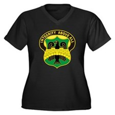 USA 22nd Military Police Battalion Women's Plus Si