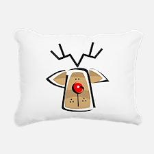REINDEER103.png Rectangular Canvas Pillow