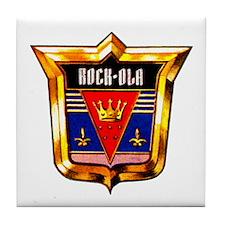 Rock-ola Crest Tile Coaster