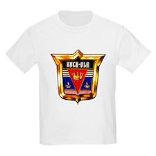 Rock-ola Crest Kids T-Shirt