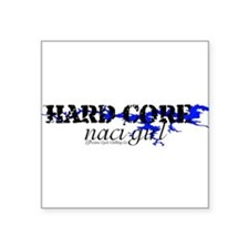 "NACIGIRLHC1.png Square Sticker 3"" x 3"""