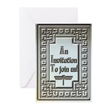 Celtic Dragonfly Invitation Cards (Pk of 10)