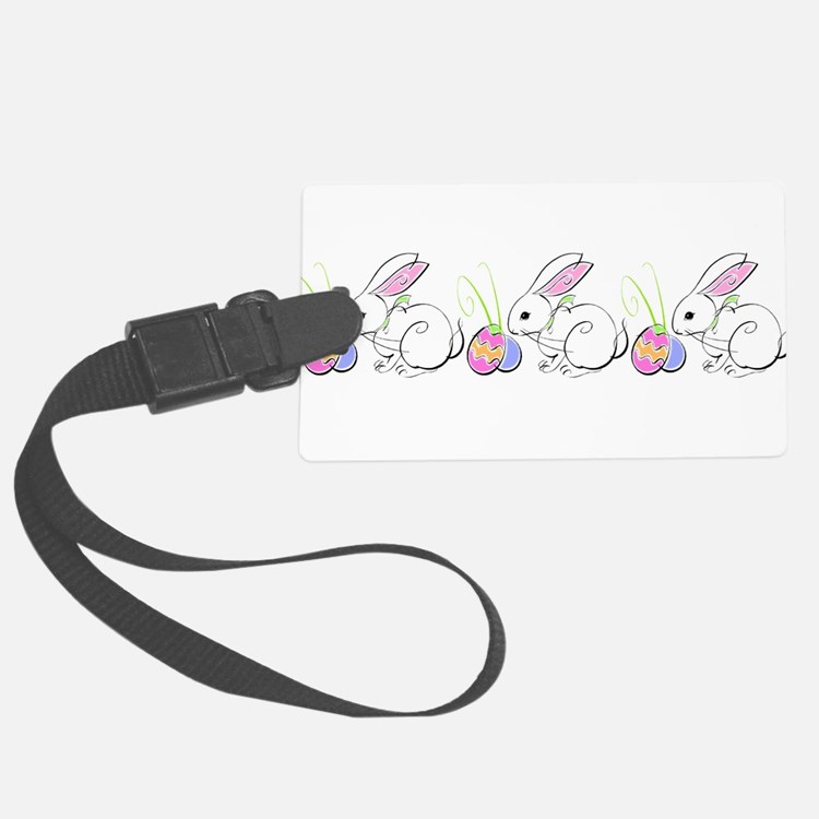 EASTERBUNNIES_LINE.png Luggage Tag
