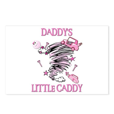 DADDY'S LITTLE CADDY Postcards (Package of 8)