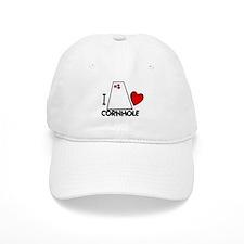 I Heart Cornhole Baseball Cap