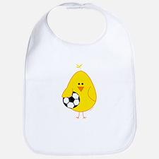 Soccer Chick Bib