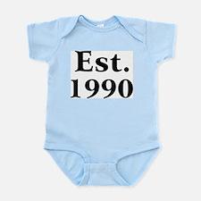 Est. 1990 Infant Creeper