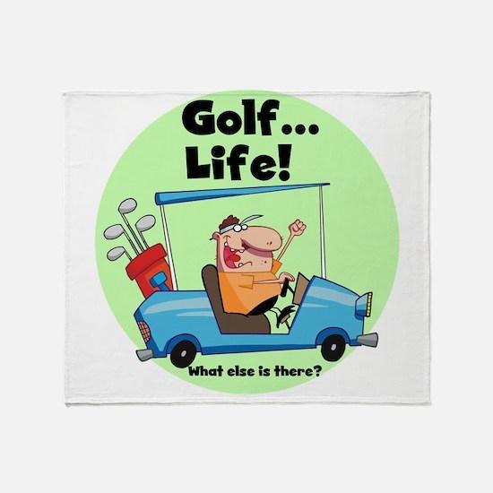 golfislife.png Throw Blanket