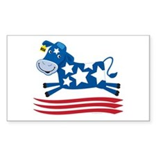 Proud Cow Leaping: Rectangle Decal