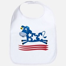 Proud Cow Leaping: Bib