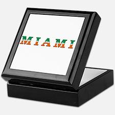 Funny Miami hurricanes Keepsake Box