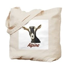 Alpine Goat Portrait Annabell Tote Bag