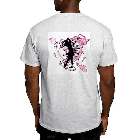 TEED OFF! GOLFER Ash Grey T-Shirt