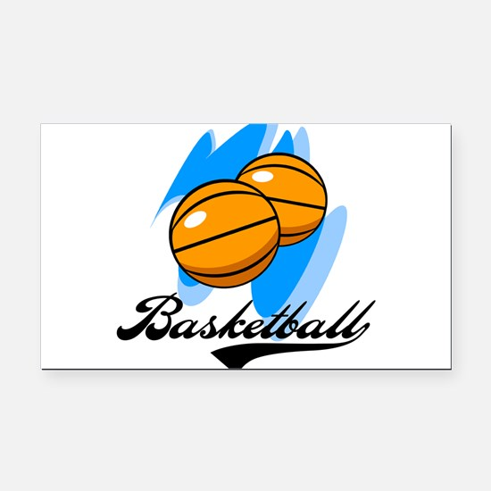 SPORBASKETBALL.png Rectangle Car Magnet