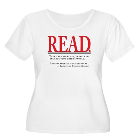Love of Books Women's Plus Size Scoop Neck T-Shirt
