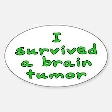 Brain tumor - Decal