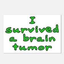 Brain tumor - Postcards (Package of 8)